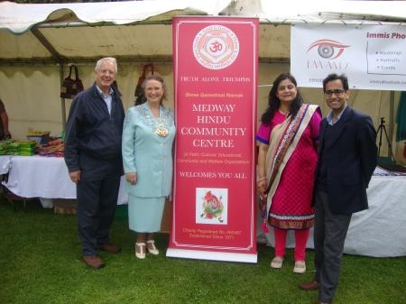 Reh with Deputy Mayor, Priti Joshi and Mike