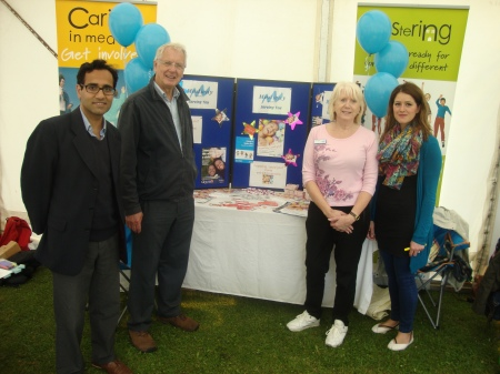Reh with medway fostering team
