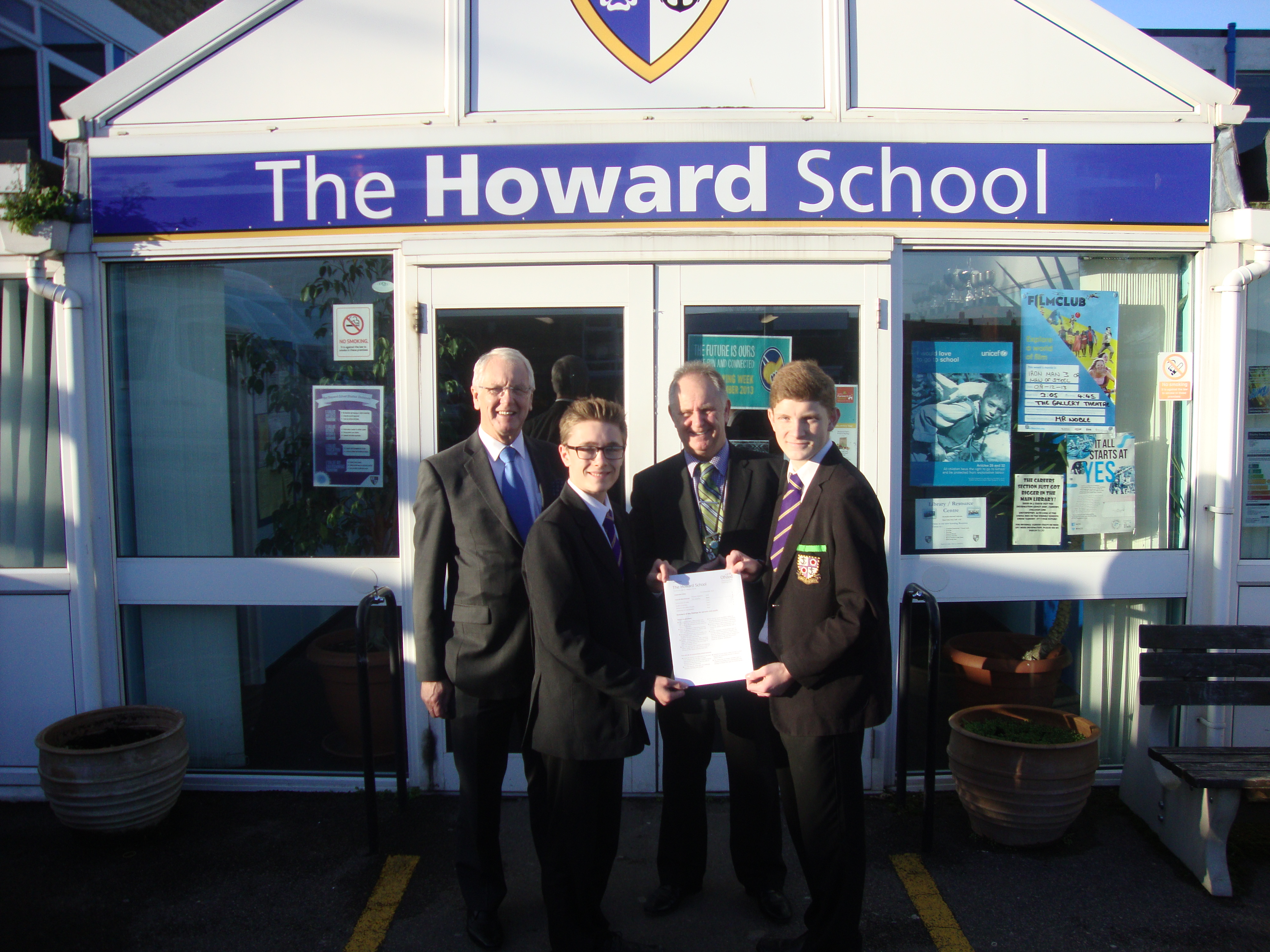 I Celebrate a GOOD Ofsted with The Howard School for Boys ...