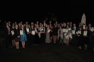 Kent Teacher of the Year Awards 2015 awards presentation ceremony at Leeds Castle, Maidstone OVERALL WINNERS Picture: Wayne McCabe FM3821473
